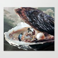 SHELLTER Canvas Print