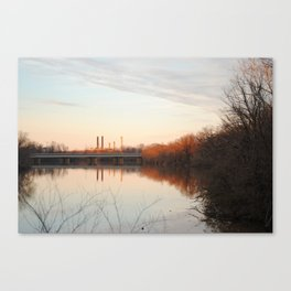 Anacostia sunset Canvas Print
