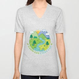 View Gift Earth Day Unisex V-Neck