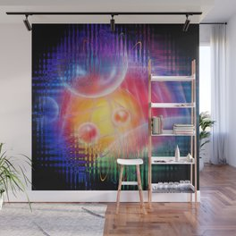 Abstract in perfection 113 - Space and time Wall Mural