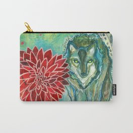 Wolf: Fierce Hope Carry-All Pouch