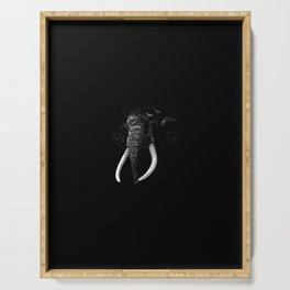 Elegant Elephant Serving Tray
