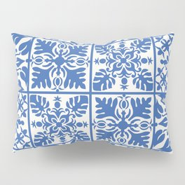 Hawaiian Quilt in Blue Pillow Sham