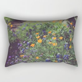 Spring in the Texas Hillcountry Rectangular Pillow