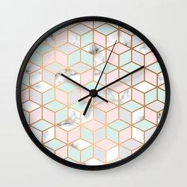 Marble & Geometry 051 Wall Clock