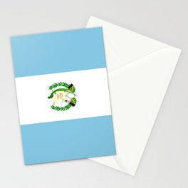 Flag of Guatemala- Guatemalan, Mixco,Villa Nueva,Petapa,tropical,central america,spanish,latine Stationery Cards