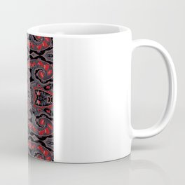 Paisley 7 Red Coffee Mug