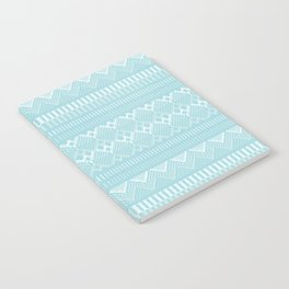 Weave (blue) Notebook