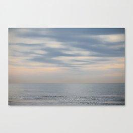 Morning at the ocean Canvas Print