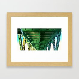 Tobin Bridge - North Bound Framed Art Print