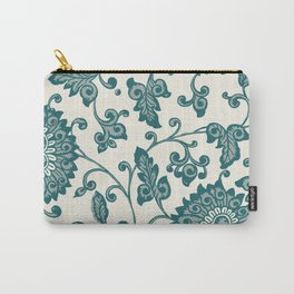 Chinese Neo-Retro Pattern VII Carry-All Pouch