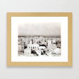 Alexandria, Egypt 1901 Framed Art Print
