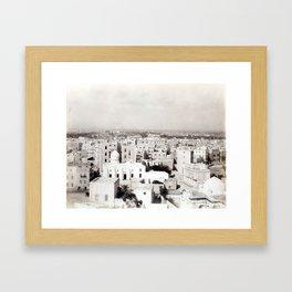 Alexandria, Egypt 1901 Framed Art Print