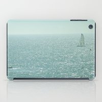 sailing iPad Cases featuring Sailing by Catherine Holcombe