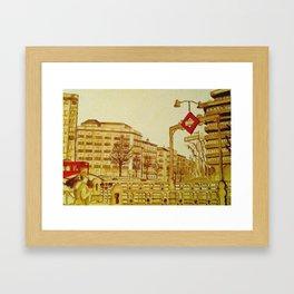 San Bernardo (Madrid) Framed Art Print