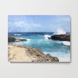 Sea Spray Metal Print