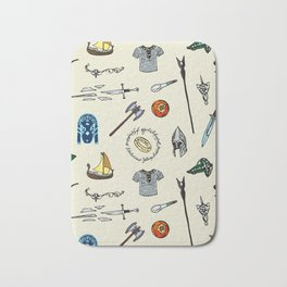 Lord of the pattern Bath Mat