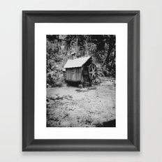 Water Wheel #2 Framed Art Print