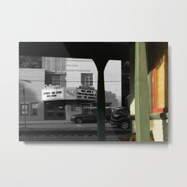Classic American movie theater Metal Print