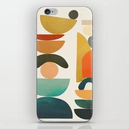 Modern Abstract Art 72 iPhone Skin