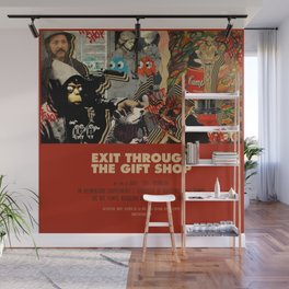 Exit Through The Gift Shop - Banksy Wall Mural