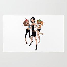 Les Nombrils - Vicky, Karine et Jenny Rug