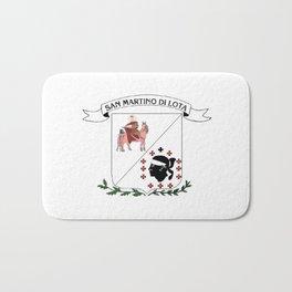 bandiera di San martinu di lota Bath Mat