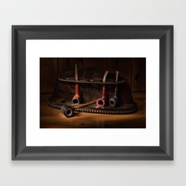The Pipe Rack Framed Art Print