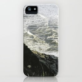 Of sea and foam iPhone Case