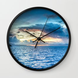 Beauty in the World Wall Clock