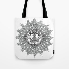 HAPPY GO LUCKY LION Tote Bag