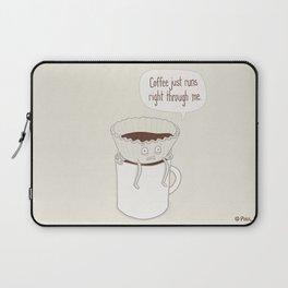 Coffee Runs Laptop Sleeve