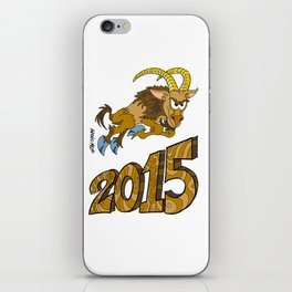 2015 Year of the Wooden Goat iPhone Skin