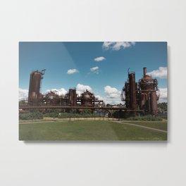 Gas Works Park Metal Print