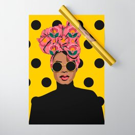 Black Beauty Wrapping Paper