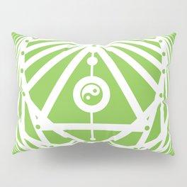 Radiant Abundance (green-white) Pillow Sham