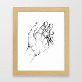 Mano Framed Art Print