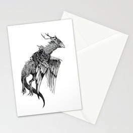 Magpie Dragon Stationery Cards