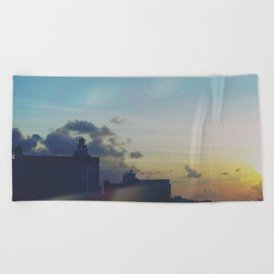 Sunset Craving Beach Towel