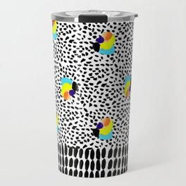 Tropical Abstract Travel Mug