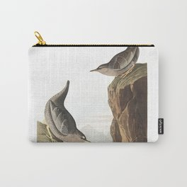 Columbian water ouzel, Birds of America, Audubon Plate 435 Carry-All Pouch