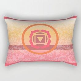 Muladhara  - the root Rectangular Pillow