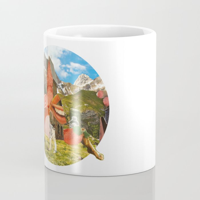 Surreala Alpina 28 · Crop Circle Coffee Mug
