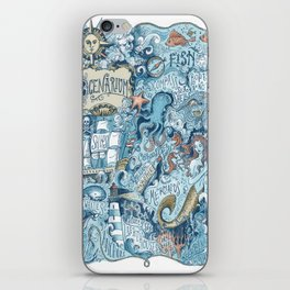 Ocenarium iPhone Skin