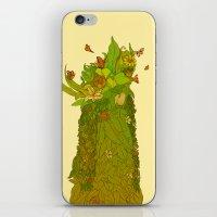 botanical iPhone & iPod Skins featuring Botanical by Carol Martins