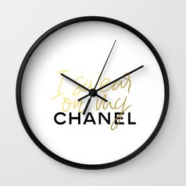 Glamour Decor Wall Clock