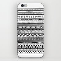 striped iPhone & iPod Skins featuring Striped by Victoria Marshall