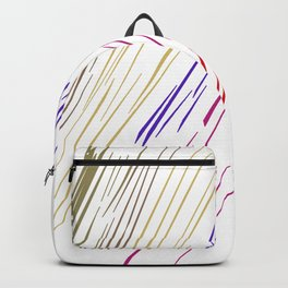 Excl. golden sun Lines ethnic Backpack