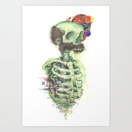 Mutton Art Print