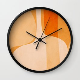 Abstract vases Wall Clock